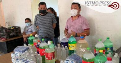 10 Jul Juchitán insumos para higiene preventiva de trabajadores