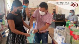 10 Jul Juchitán insumos para higiene preventiva de trabajadores1