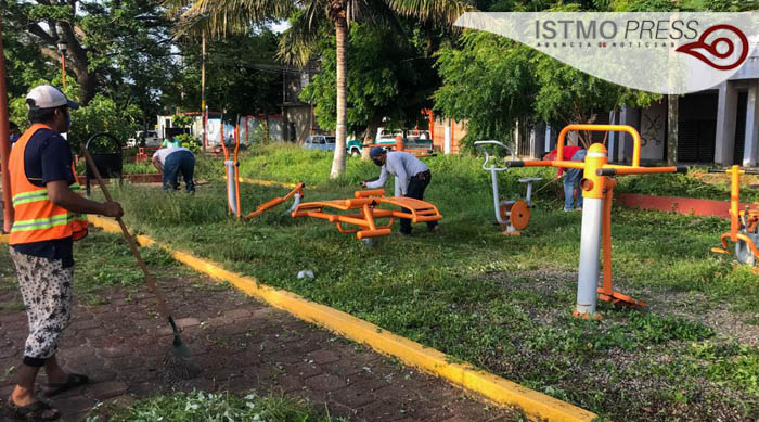 13 Jul remosa parques gobierno Juchitán
