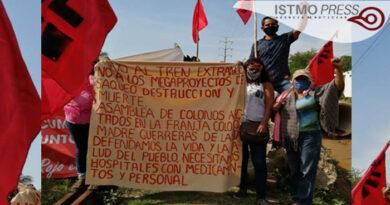 15 Jul Cierran carretera contra la obra del Ferrocarril