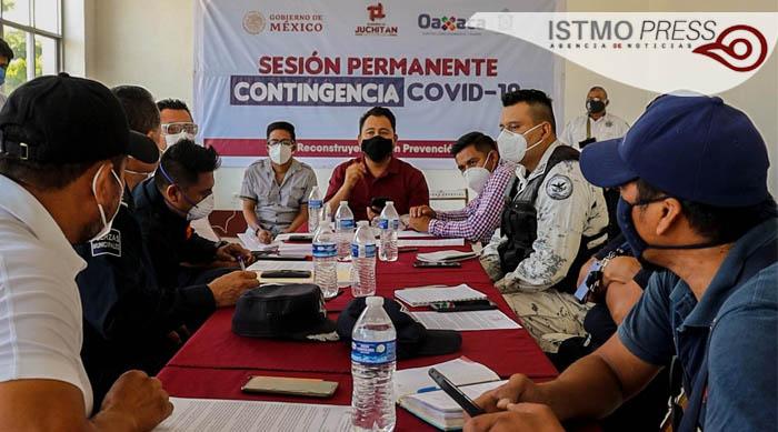 19 Jul acuerdan cierran centro histórico de Juchitán