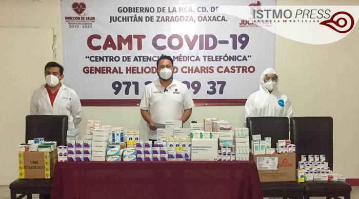 23 Jul Abre Centro de Atención Médica Telefónica en Juchitán