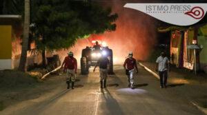 23 Jul Juchitán sigue desinfectando calles