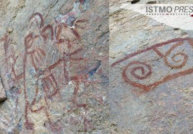 Aparecen pinturas rupestres en Mixtequilla tras sismo de 7.4 grados