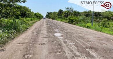 31 Jul Reperación carretera Unión Hudalgo1