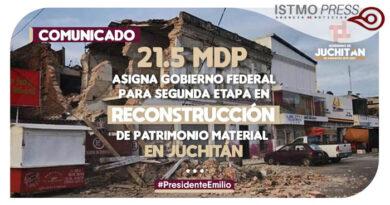 01 Ago comunicado recontrucción Juchitán