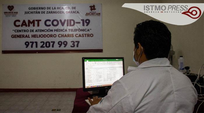 09 Ago Atención Médica Telefónica de Juchitán