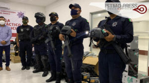 14 Ago Juchitán dotan equipo tactico
