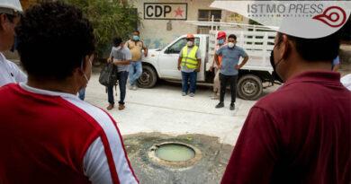 Drenaje colapsado Juchitán
