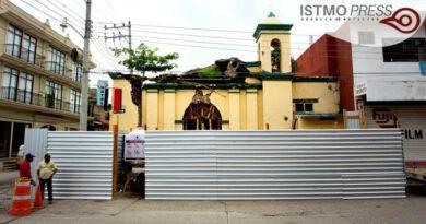 Juchitán rehabilitan capilla señor de la piedad2