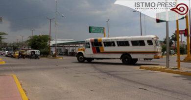 revisión transporte público Juchitán