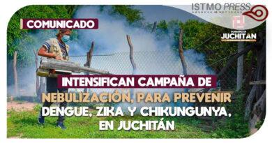 Campaña de fumigación Juchitán