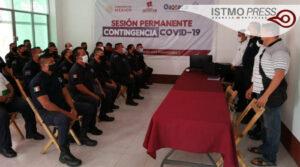 Capacitan a policias Juchitán1