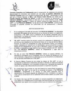 Imagen 1. Convenio