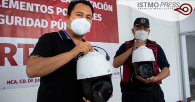 videovigilancia en Juchitán