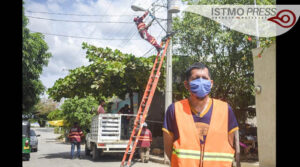Alumbrado público Juchitán1