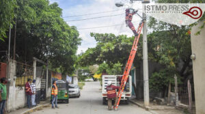 Alumbrado público Juchitán2