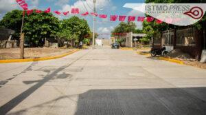 Emilio Montero pavimentación en colonia Lorenza Santiago1
