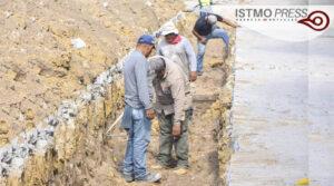Obra de drenaje Juchitán2