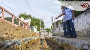Obra de drenaje Juchitán3