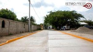 Obra de pavimentación EM1