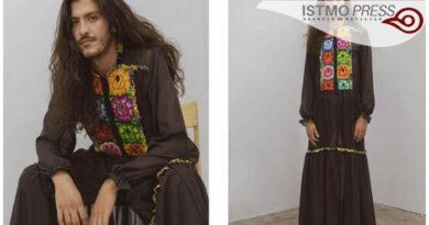 Ponen a la venta vestido para hombre con bordados de Oaxaca