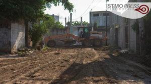 revestimiento de calles Juchitán1