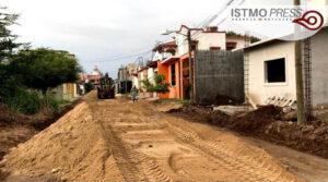 revestimiento de calles Juchitán3