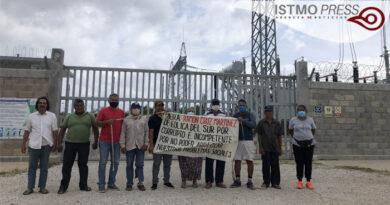 Arrendatarios bloquean parque eólico