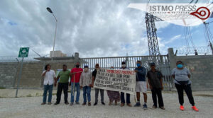 Arrendatarios bloquean parque eólico2