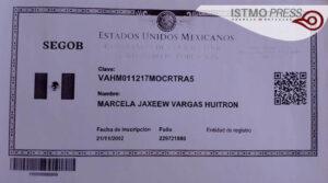"""Marcela """"Jaxëëw"""" lleva 18 años sin curp2"""