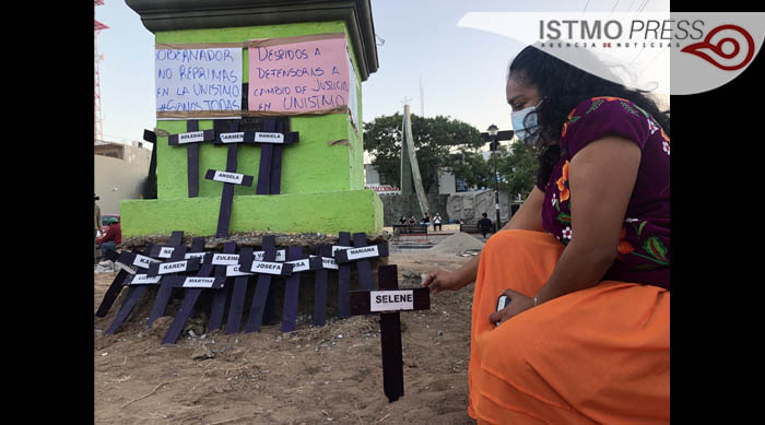 Mujeres zapotecas exigen alto a los feminicidios