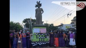 Mujeres zapotecas exigen alto a los feminicidios 1