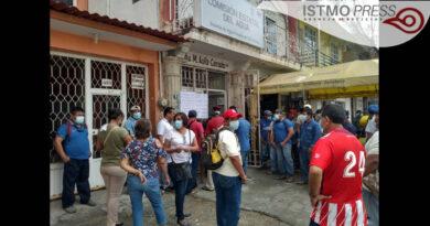 Paran trabajadores de agua potable de Salina Cruz