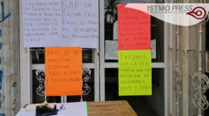Paro de labores SAP Salina Cruz