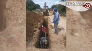 Supervisa obra de drenaje en Chicapa1
