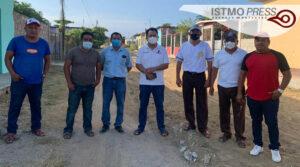 Supervisa obra de drenaje en Chicapa2