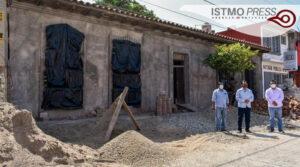 reconstrucción de biblioteca Juchitán1