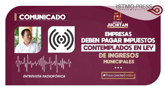 Comunicado Juchitán