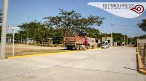 Inauguración de obra Juchitán
