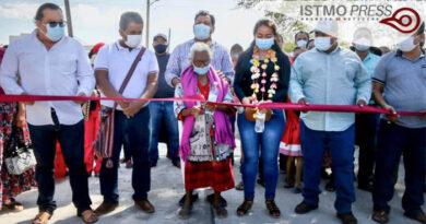 Inauguración de obra Juchitán1