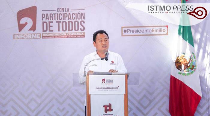 Informe de gobierno Juchitán1