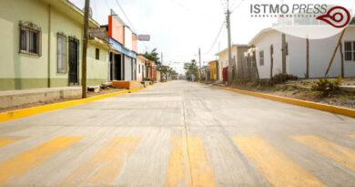 Juchitán pavimentación2