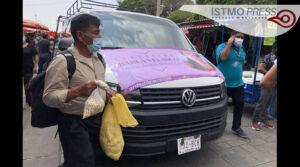 Caravana de madres chiapanecas