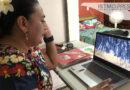 Maestra zapoteca enseña el valor de su cultura y su lengua a través de clases en línea