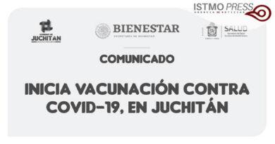 Inicia vacunación Juchitán