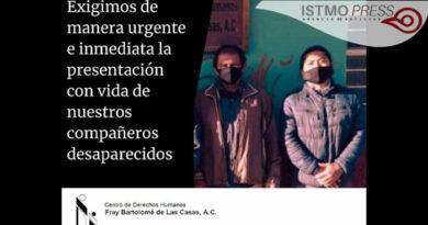 Secuestran a integrantes del centro humanitario