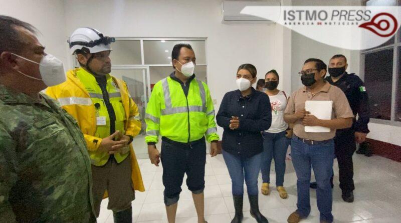 Atiende DIF municipal a familias juchitecas en albergue para damnificados por las lluvias: Yoshira Sánchez López