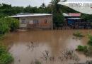 Lluvias causan inundación por desbordamiento de arroyos, canales pluviales y ríos en el Istmo de Tehuantepec