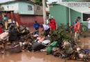 Mil viviendas afectadas por inundación en Juchitán Oaxaca